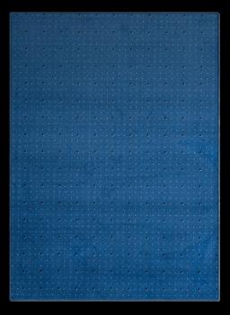 Teppich gepunktet mit Kästchen